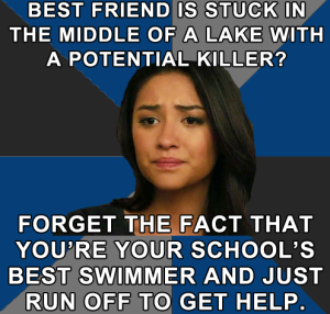 The best Pretty Little Liars tumblr there ever was, Emotionally Conflicted Emily