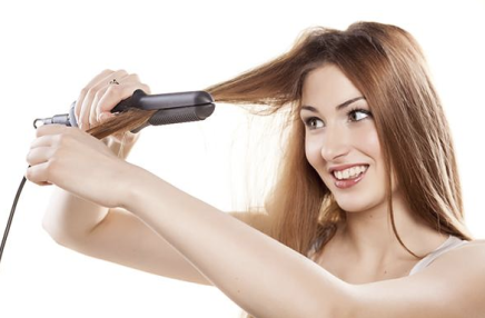 An Open Letter to the Woman Straightening Her Hair in the Public Restroom