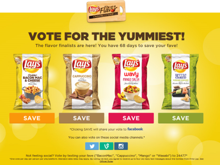 20 Flavor Suggestions for Lay's Potato Chips