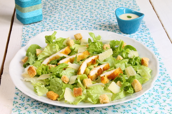 Being a Caesar Salad Lover in a House SaladWorld
